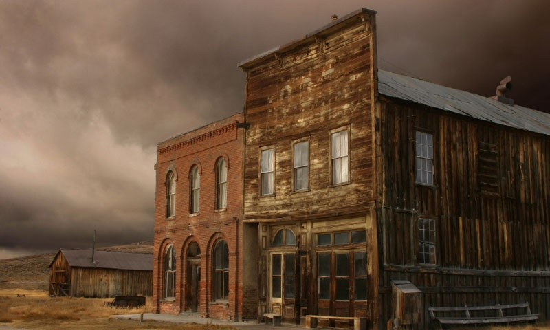 Historic Hotel in Bodie Ghost Town