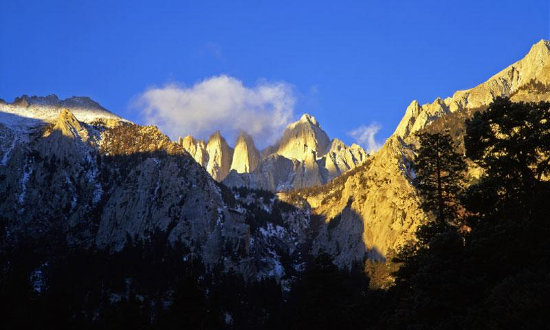 Mount Whitney Highest Peak In California Amp Lower Us
