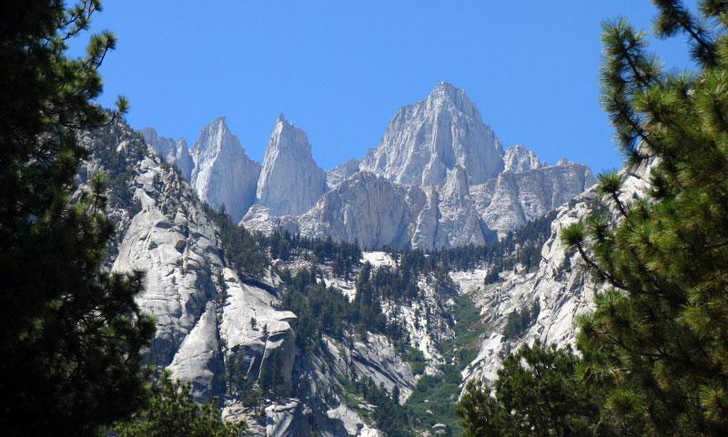 Mount Whitney Highest Peak In California Amp Lower Us
