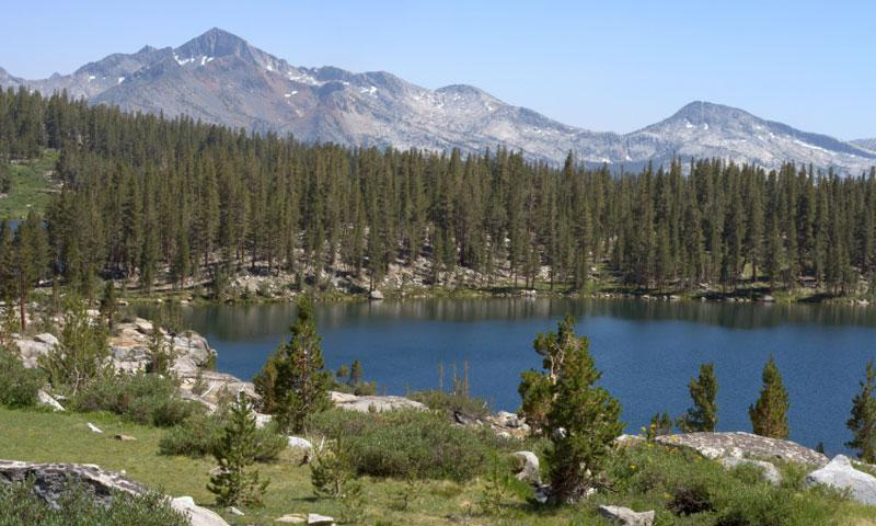 Sallie Keyes Lake in the John Muir Wilderness