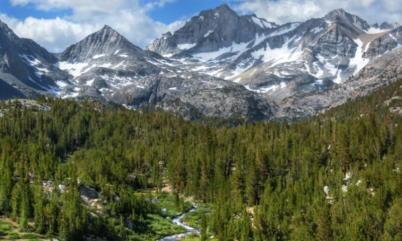 Bear Creek Spire in the John Muir Wilderness