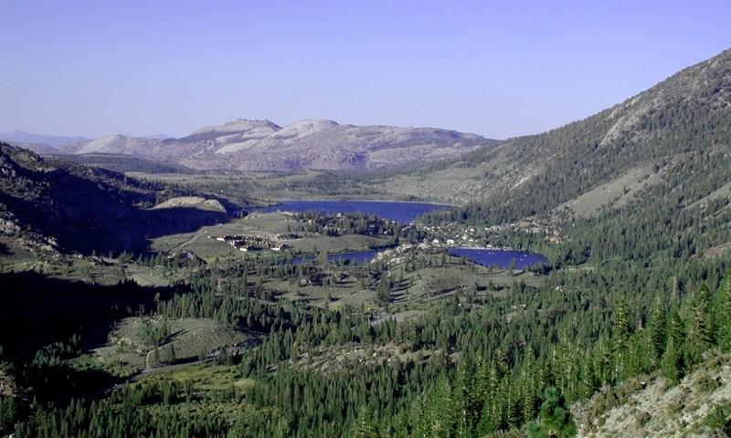 Gull lake june lake loop california alltrips for Lakefront cabins june lake