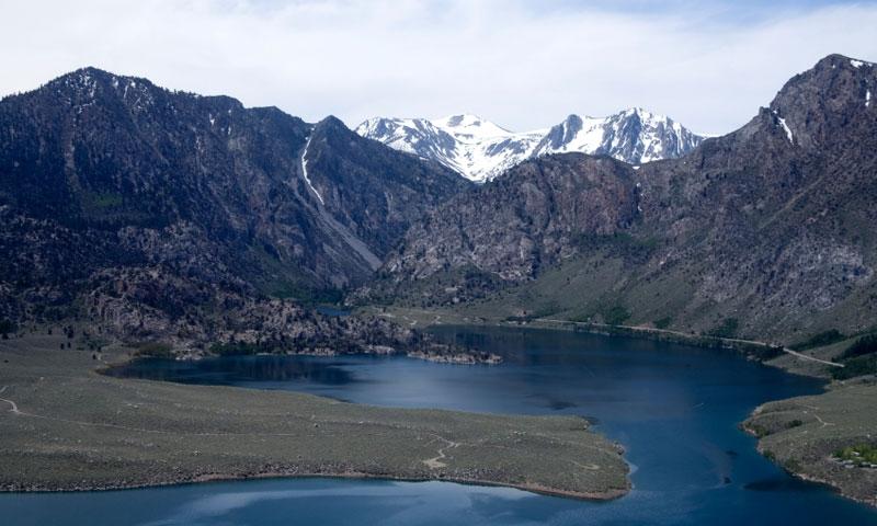 Crowley Lake near June Lake California