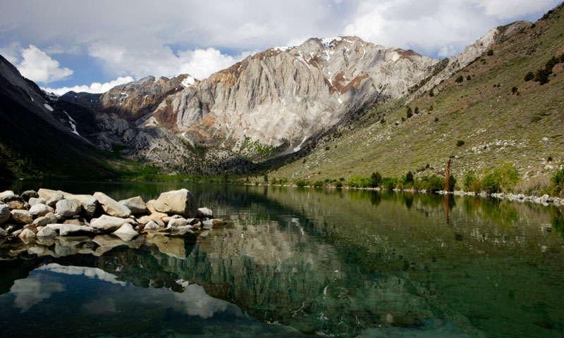 Convict Lake in Mammoth Lakes