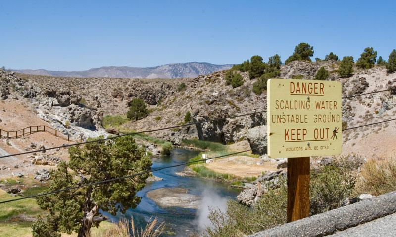 Hot Creek California Fly Fishing, Camping, Boating - AllTrips