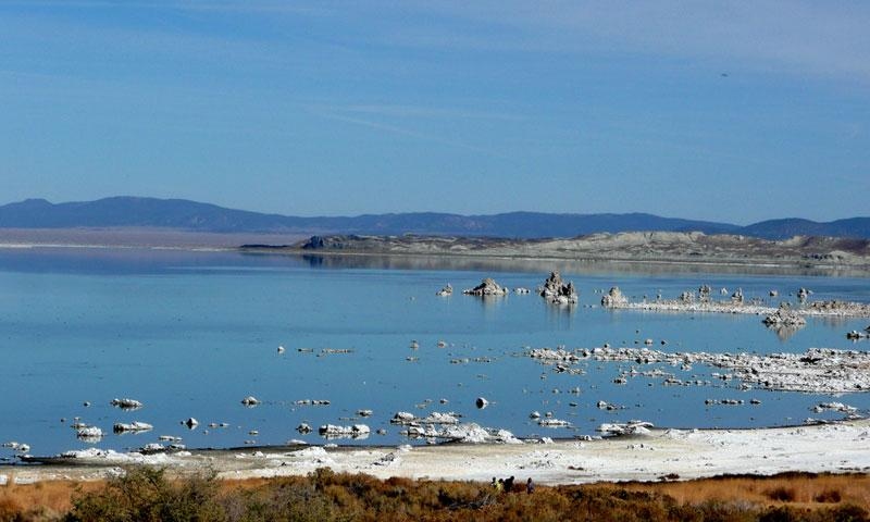 Overlooking Mono Lake in California