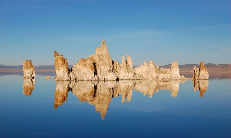 Tufa on Mono Lake in California