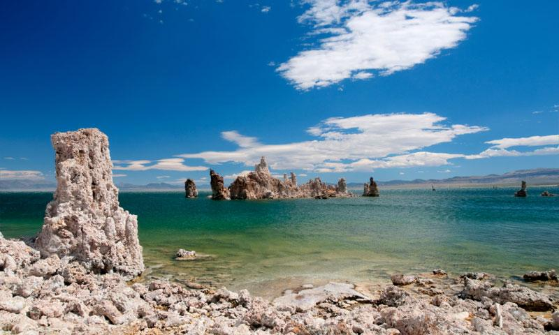 Tufas on Mono Lake near Mammoth Lakes
