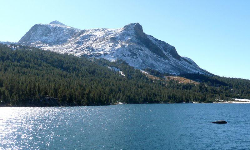 Tioga Lake in Yosemite National Park
