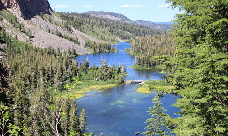 Twin Lakes near Mammoth Lakes California