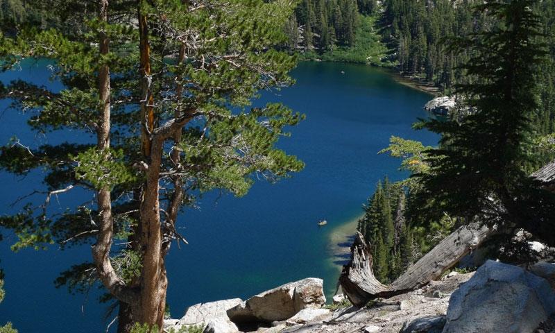 Lake George in the Mammoth Lakes Loop