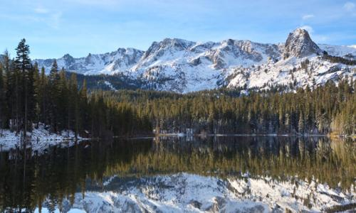 Winter Lake Mamie California