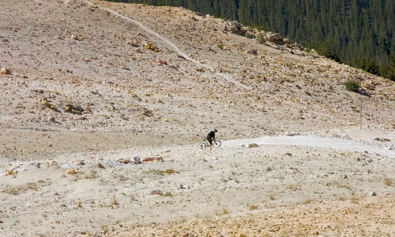 Mountain Biking Park at Mammoth Mountain Ski Resort