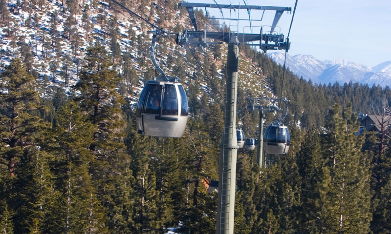 Gondola at Mammoth Mountain
