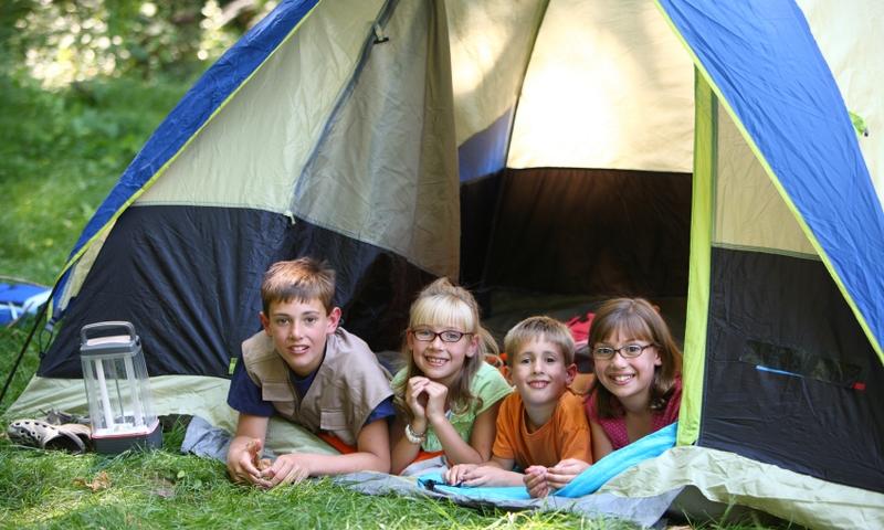 Mammoth Lakes Kids Camping