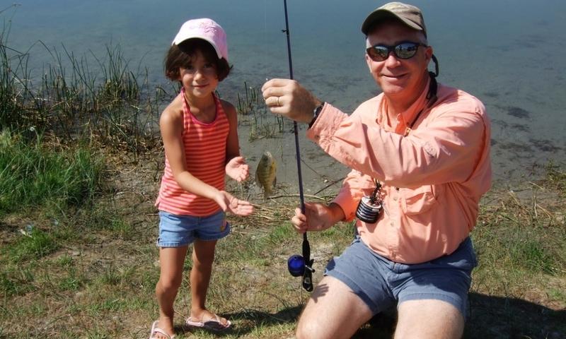 Fishing Kids Family