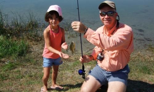 Mammoth Lakes Kids Fishing