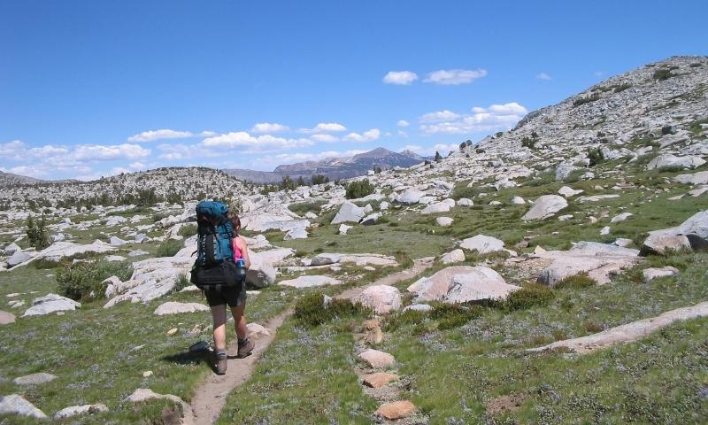 Hiking the Sierra Nevadas in California