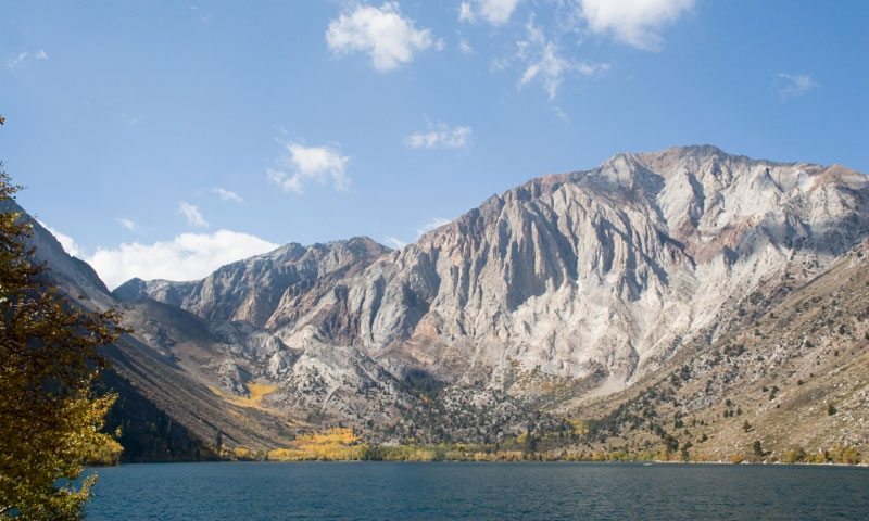 Convict Lake near Mammoth Lakes